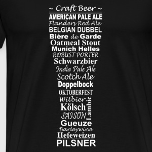 Beer,craft beer - Männer Premium T-Shirt
