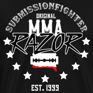 MMA - RAZOR - INNSENDELSE FIGHTER - Premium T-skjorte for menn