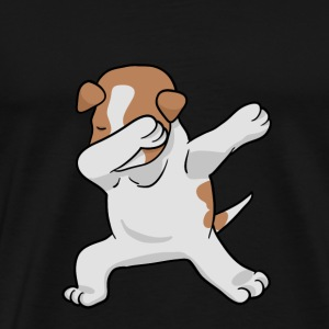Dabbing Jack Russell Terrier