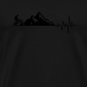 Mountain Bike Repeat Biker Downhiller Heartbeat