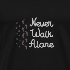 Cool Never Walk Alone - Jalkatulostus