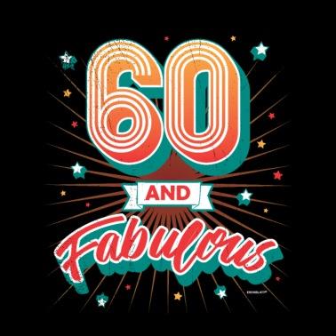 Geliefde 60 jaar 60ste verjaardag Mannen premium T-shirt   Spreadshirt #WH41