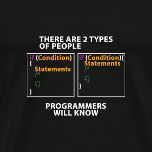 There are 2 types of people! - version coding