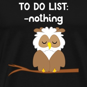 Owl - owl - owl - owls t-shirt - loafers
