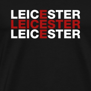 Leicester United Kingdom Flag Shirt - Leicester - Premium-T-shirt herr
