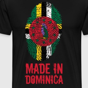 Made In Dominica Karibien - Premium-T-shirt herr