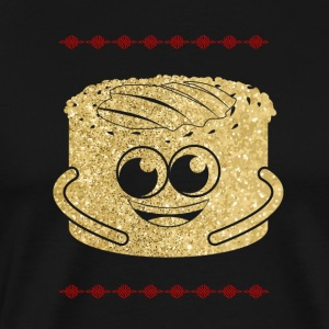 Golden Cheesecake Cheesecake - Premium-T-shirt herr