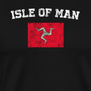 Manxman Flag Shirt - Vintage Isle of Man T-Shirt