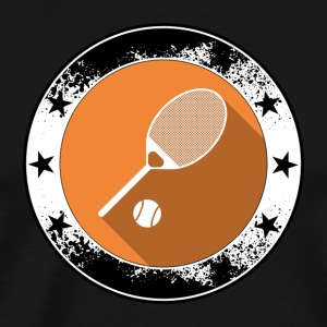 Tennis emblem icon Ballsport net sports game - Men's Premium T-Shirt