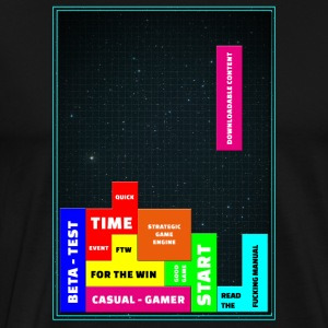 tetris - Men's Premium T-Shirt