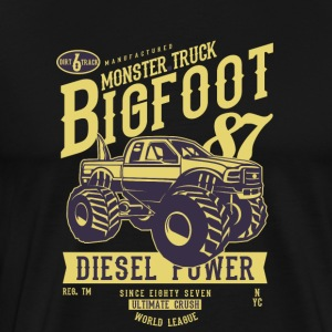Monster Truck Big Foot - Camiseta premium hombre