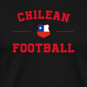 Chile Football Shirt - Chile Soccer Jersey - Premium-T-shirt herr
