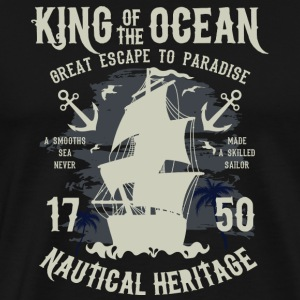 King Of The Ocean - Mannen Premium T-shirt