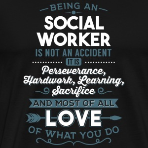 Love what you do - Social Worker - Men's Premium T-Shirt