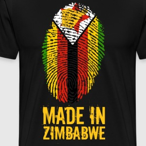 Made In Zimbabwe / Zimbabwe / Great Zimbabwe - T-shirt Premium Homme