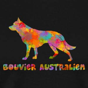 Australian Cattle Dog Multicolor - Premium T-skjorte for menn