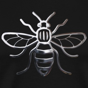 Manchester Bee - Chrome Effect