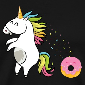 Unicorn Donut - Premium T-skjorte for menn