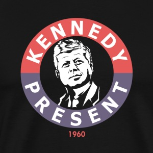 John F Kennedy For president - Premium T-skjorte for menn