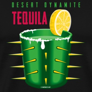 06-17 Tequila Sunrise, Tex-mex intellectual products - Men's Premium T-Shirt