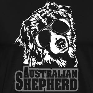 AUSTRALIAN SHEPHERD cool - Men's Premium T-Shirt