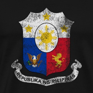 Filipino Coat of Arms Filippinerne Symbol - Herre premium T-shirt