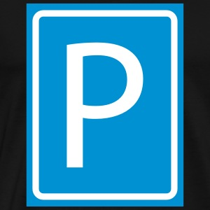 P Parking Parking Parking Parking 2c - Men's Premium T-Shirt