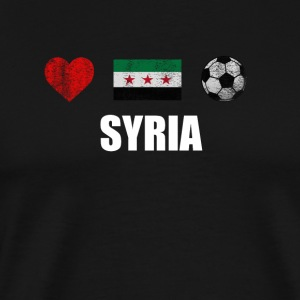 Syria Football Shirt - Syria Soccer Jersey - Premium-T-shirt herr