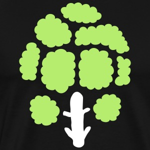 Broccoli gift idea - Men's Premium T-Shirt