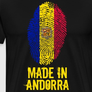 Made In Andorra - Premium T-skjorte for menn