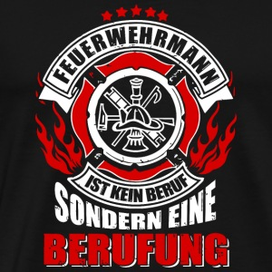 Firefighter firefighter vocation gift - Men's Premium T-Shirt