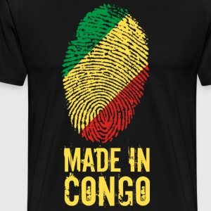 Made In Congo / Congo - Herre premium T-shirt