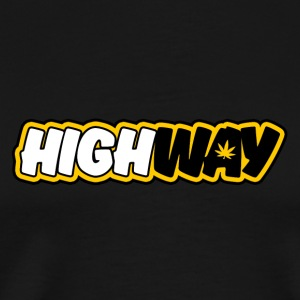 Den officiella Highway fanshirt - Premium-T-shirt herr