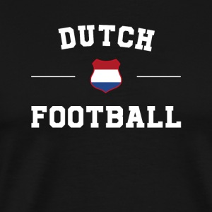 Dutch Football Shirt - Dutch Soccer Jersey - Men's Premium T-Shirt