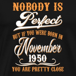 If You Born In November 1950 - Men's Premium T-Shirt