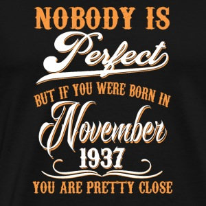 If You Born In November 1937 - Men's Premium T-Shirt