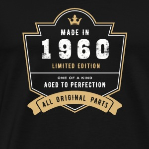 Made In 1960 Limited Edition All Original Parts - Men's Premium T-Shirt