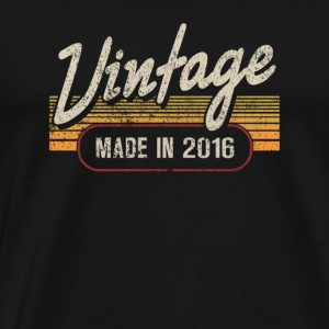 Vintage MADE IN 2016 - Men's Premium T-Shirt