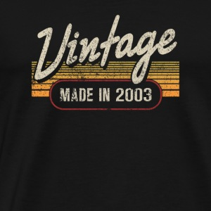 Vintage MADE IN 2003 - Men's Premium T-Shirt