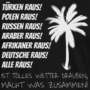 Refugees Welcome Shirt - Männer Premium T-Shirt