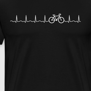 Bike Heartbeat - T-shirt Premium Homme