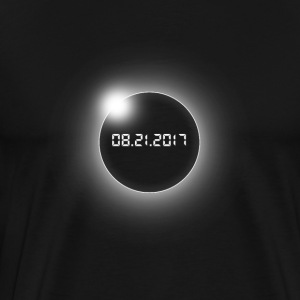 Total Solar Eclipse-USA-08.21.2017 - Herre premium T-shirt