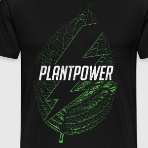 plant power - Men's Premium T-Shirt