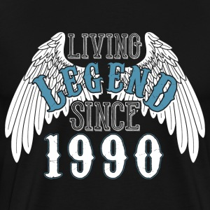 Living Legend siden 1990 - Premium T-skjorte for menn