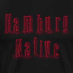 Hamburg Native - Premium T-skjorte for menn