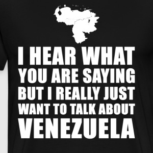Funny Venezuela holiday gift idea - Men's Premium T-Shirt