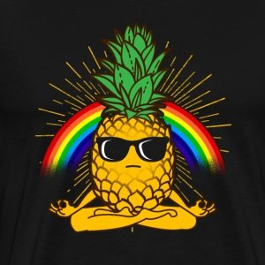 YOGA ANANAS / YOGI - Men's Premium T-Shirt