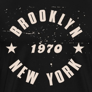 Brooklyn New York 1970 - Herre premium T-shirt