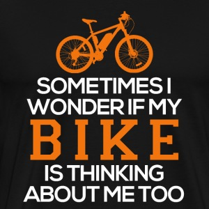 Think of the bike - Men's Premium T-Shirt