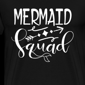 Mermaid Squad - marine life typography